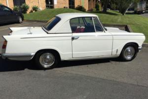 RARE 1960s triumph 12/50 vitesse convertible coupe suit tr4