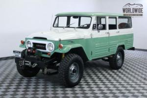 1966 Toyota Land Cruiser LV RESTORED 1 OF 100 V8 AC COLLECTOR