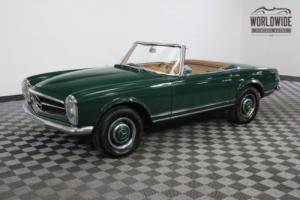 1964 Mercedes-Benz SL-Class RESTORED MOSS GREEN NEW INTERIOR