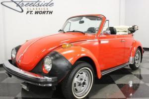 1979 Volkswagen Beetle - Classic Convertible