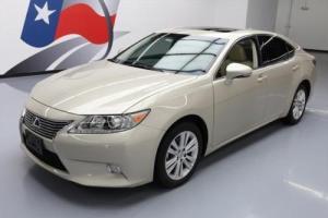 2013 Lexus ES PREM SUNROOF HEATED SEATS REAR CAM