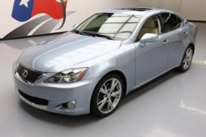 2010 Lexus IS CLIMATE SEATS SUNROOF NAV REAR CAM