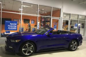 2016 Ford Mustang Convertible Sport 6-Speed