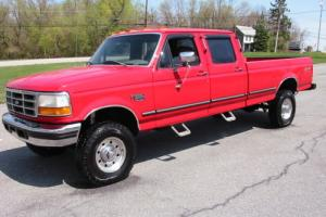 1997 Ford F-350 CREW Longbed OBS-7.3 Powerstroke 128K Rustfree