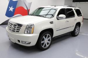2012 Cadillac Escalade LUXURY AWD SUNROOF NAV 22'S