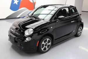 2015 Fiat 500 E ELECTRIC HEATED SEATS CRUISE CTRL14K MI