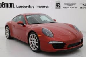 2014 Porsche 911 911 CARRERA S COUPE