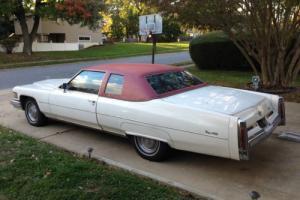 1976 Cadillac DeVille DeVille