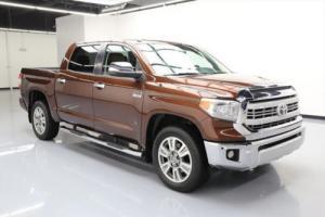 2014 Toyota Tundra 1794 ED CREWMAX SUNROOF NAV 20'S