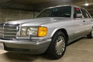 1991 Mercedes-Benz 300-Series W126 W124 300e 300se