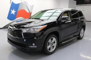 2016 Toyota Highlander LTD SUNROOF NAV DVD THIRD ROW