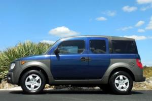 2003 Honda Element BLUE EX Sport Utility 4-Door