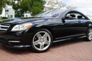 2013 Mercedes-Benz CL-Class CL550 4MATIC 1-OWNER ONLY 22K MILES AMG SPORT LOADED!!!