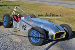 1960 LOTUS Seven Series 1  IRS      RHD     Street or Track