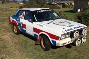 Datsun Stanza Rally Car