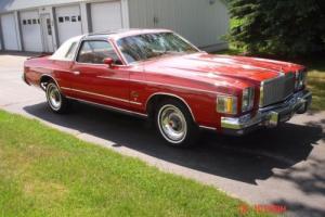 1979 Chrysler Cordoba Photo