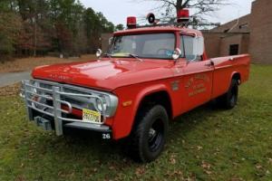 1971 Dodge Power Wagon W200