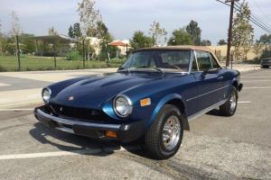 1976 Fiat Spider 1800 --