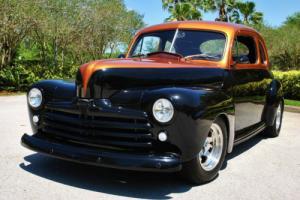 1948 Ford Deluxe Coupe Custom 350 V8 PS PB Tilt Fully Restored!