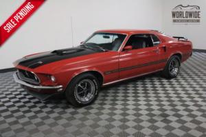 1969 Ford Mustang RESTORED. RARE. 351W V8. MANUAL. MARTI REPORT