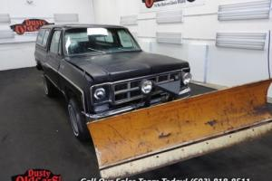 1977 GMC Jimmy Body Int Good 350V8 3 spd auto