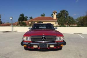 1987 Mercedes-Benz SL-Class 560SL R107 Photo