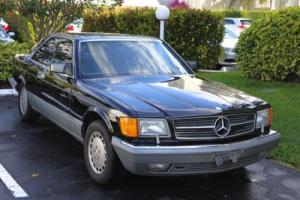 1988 Mercedes-Benz 500-Series 560SEC Photo