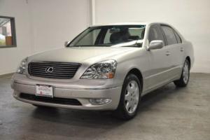 2002 Lexus LS Ultra Luxury Nav One Owner 34k
