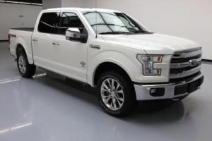 2016 Ford F-150 KING RANCH CREW 4X4 ECOBOOST NAV