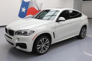 2016 BMW X6 SDRIVE35I M SPORT LEATHER NAV HUD 20'S