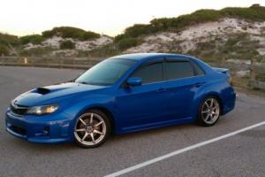 2012 Subaru WRX Premium Sedan (World Rally Blue)