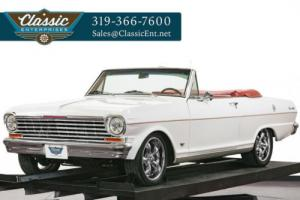 1962 Chevrolet Nova Convertible Custom