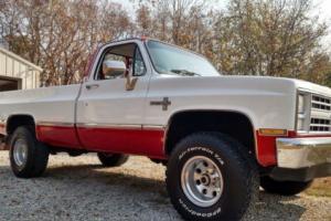1986 Chevrolet C/K Pickup 1500 Scottsdale