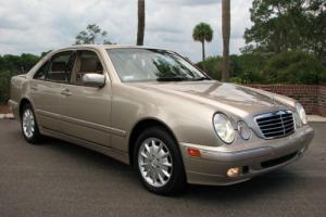 2000 Mercedes-Benz E-Class W210 E-320 E320 4-MATIC 4MATIC SEDAN
