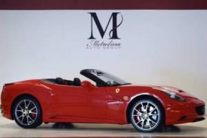 2013 Ferrari California Base 2dr Convertible
