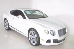 2013 Bentley Continental GT 2DR CPE