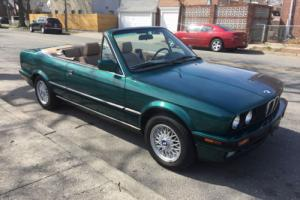 1992 BMW 3-Series 325i 325iC Convertible 22,000 miles!