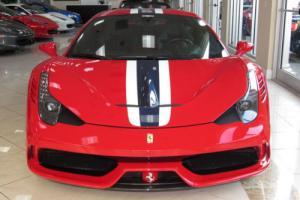 2014 Ferrari 458 2dr Coupe Speciale