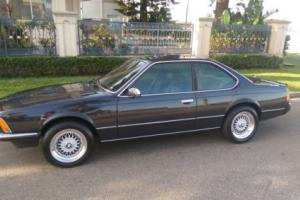 RARE 1983 BMW 628 Csi MANUAL Coupe suits 635,M6,E9 Photo