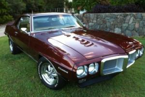 1969 Pontiac Firebird Bronze Gold Interior like Trans Am Camaro GTO