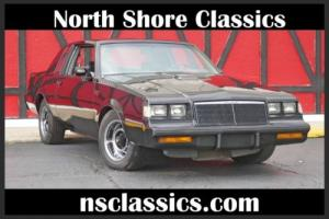 1986 Buick Grand National -NEWER BLACK PAINT-3.8 TURBO-VERY SLICK & FAST- SE