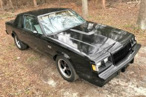 1987 Buick Grand National 1987 BUICK GRAND NATIONAL 3.8 TURBO VERY SOLID GN