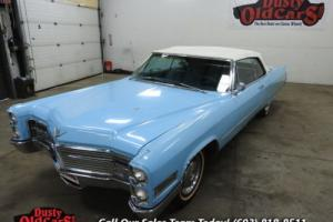 1966 Cadillac Deville Coupe Inter Good Body Fair 429V8 3spd Auto