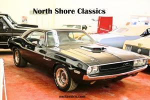1970 Dodge Challenger -BLACK ON BLACK-360- FRESH RESTORED-NEW JET BLACK