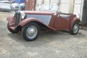1950 MG T-Series roadster