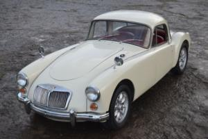 1959 MG MGA MGA COUPE