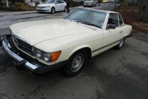 1983 Mercedes-Benz 300-Series 380SL Photo