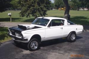 1965 Plymouth Barracuda Gasser