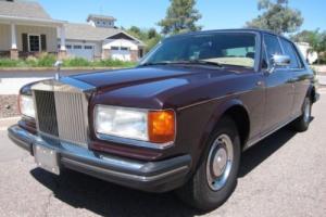 1984 Rolls-Royce Silver Spirit/Spur/Dawn ROLLS-ROYCE