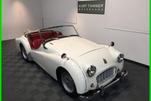 1956 Triumph TR3 Photo